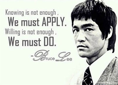 Bruce Lee picture quotes