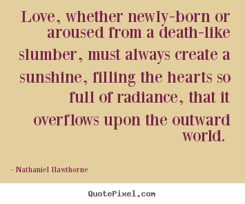 the symbolism of sunshine in the scarlet letter by nathaniel hawthorne In the scarlet letter, nathaniel hawthorne  the dichotomy between nature and culture  this scene is also relevant in terms of the novel's symbolism:.